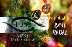 postal de Navidad Óptica y Centro Auditivo Furió Bétera