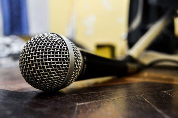 micrófono eventos